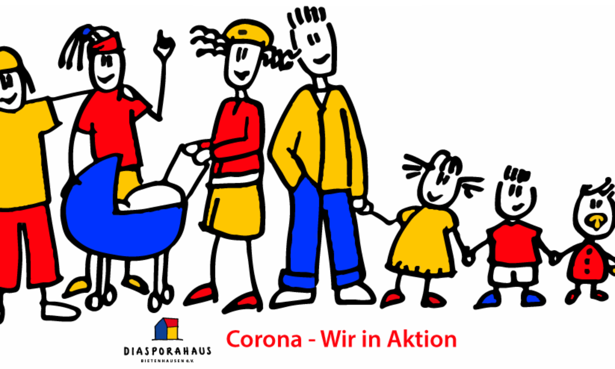 Corona - Wir in Aktion